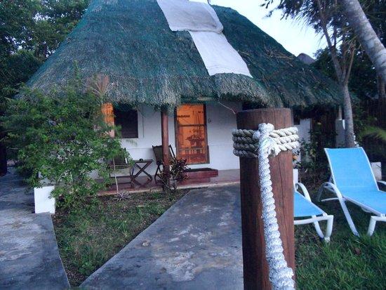 Rancho Encantado: Habitación vista desde la laguna