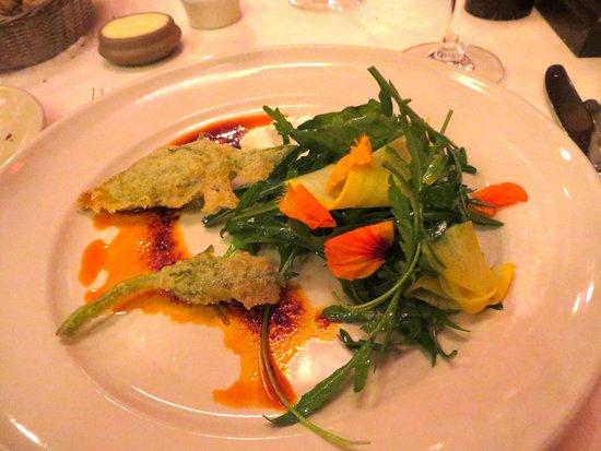 Chez Panisse: Fried Squash Blossoms