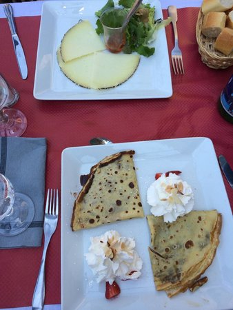 l'Arago: dessert