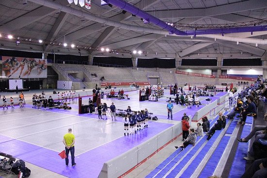 Olympic Oval: Volleyball courts