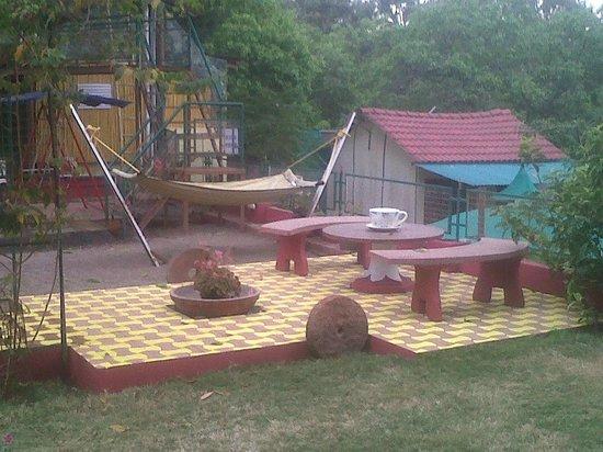 Wonder Woods: Area for evenning Tea