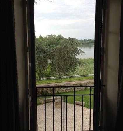 Chateau de Courtebotte : The view from our room