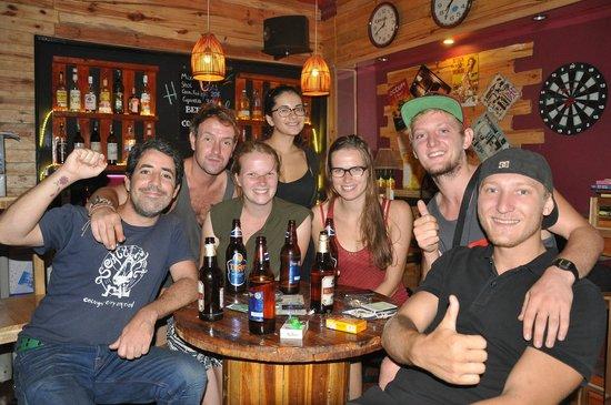 My Youth Hostel: Happy customers at Hanoi Youth Hostel