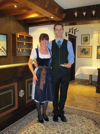 Hotel Haldenhof : Claudia and Mathias