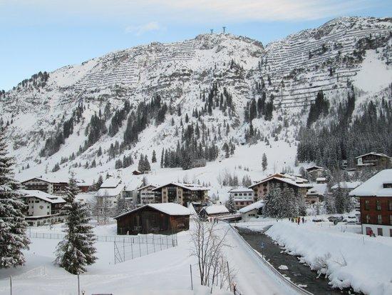 Hotel Haldenhof: South to the village centre