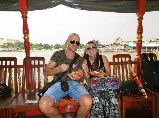 Chao Phraya River: foto di coppia