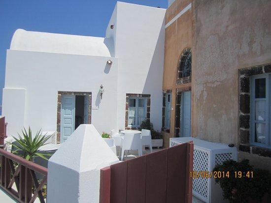Aigialos Hotel: Breakfast