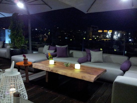 O Monot Luxury Boutique Hotel: roof top of o monot hotel