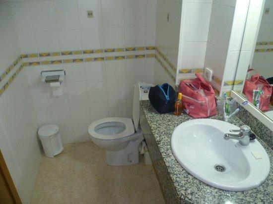 Kilimanjaro Hotel: toilette lavabo