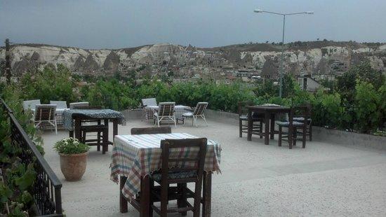 Cave Hotel Saksagan: Terrace