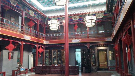 Soluxe Sunshine Courtyard Hotel: lobby