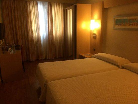 Abba Rambla Hotel: La chambre