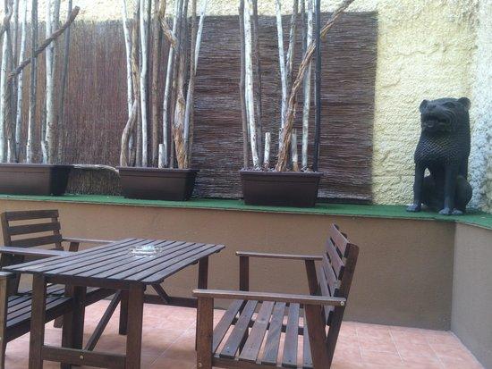 Abba Rambla Hotel: La terrasse