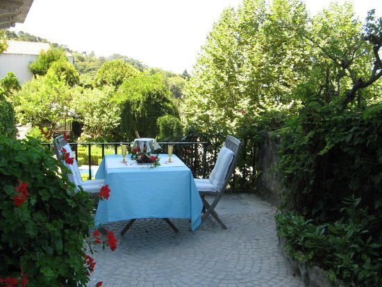 Bed and Breakfast Villa Mira Longa: The private Terrace of the Estudio-Suite