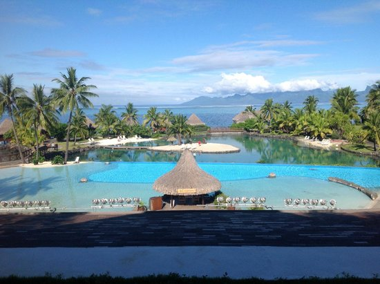 InterContinental Tahiti Resort & Spa : vue de la réception
