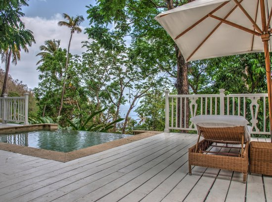 Sugar Beach, A Viceroy Resort : Private plunge pool