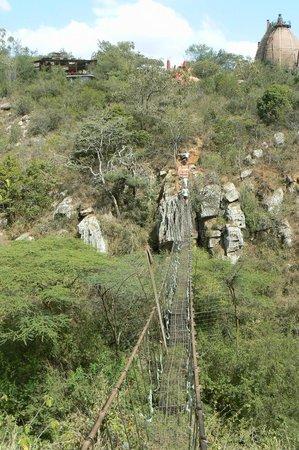 Silole Sanctuary: The hanging bridge