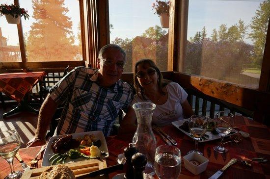 Chez Ignace: souper sur la terrasse