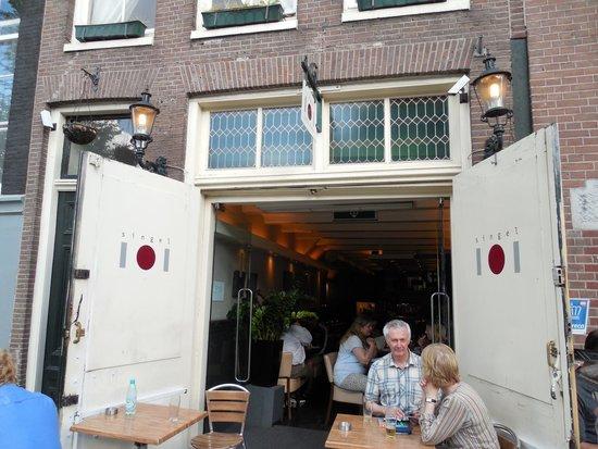 Singel 101 Restaurant: Outdoor Seating