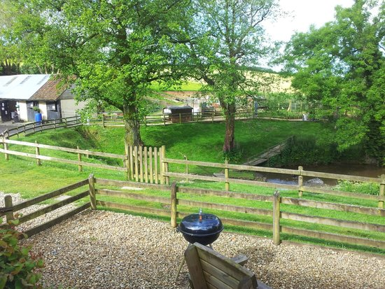 North Hayne Farm Cottages: The view from Katie's Corner