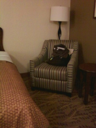 Governors Inn Hotel: easy chair
