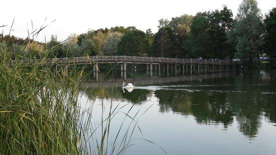 Campanile Tours Sud - Joue Les Tours: Lac proche hôtel
