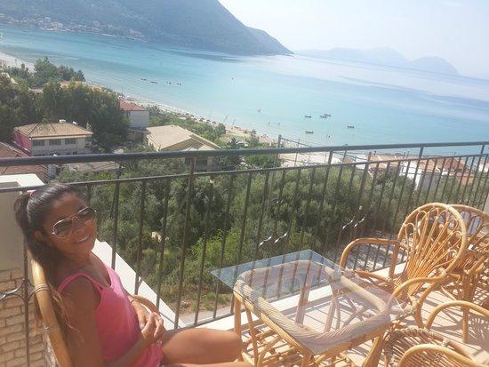 Ponti Beach Hotel: Vista desde el bar terraza del hotel