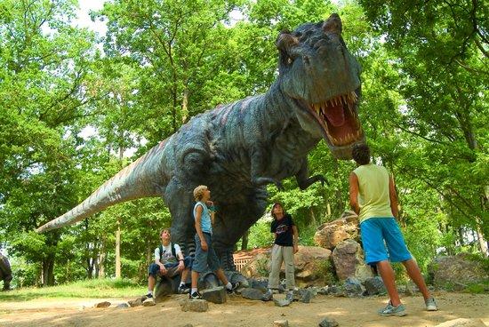 DinoPark Plzeň - Tyrannosaurus Rex