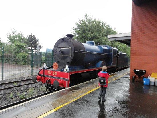 Steam Train Rides: The train at Central