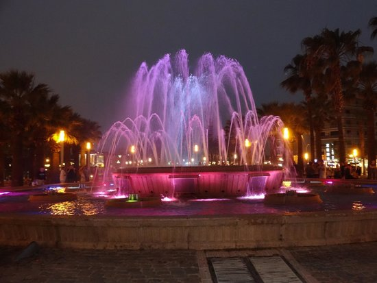 MedPlaya Hotel Calypso : dancing fountains salou