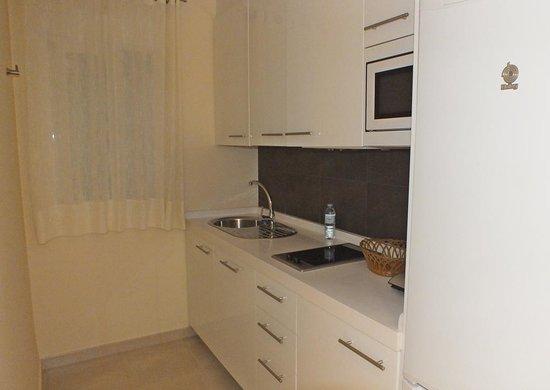 Apartamentos San Pablo: Cozinha do apartamento