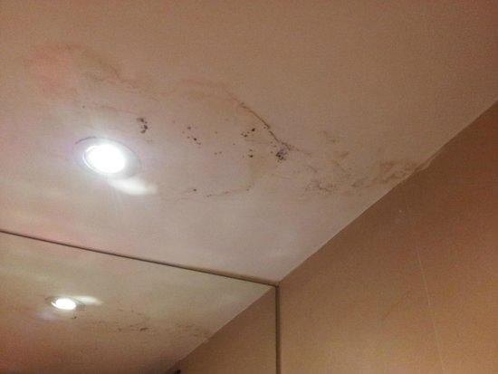 Narai Hotel: techo muy descuidado