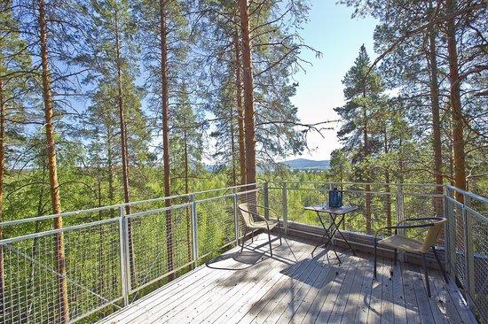 Harads, Suède : view