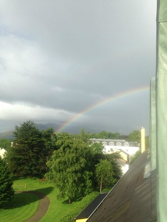 The Killarney Park Hotel: One of the many rainbows we saw!