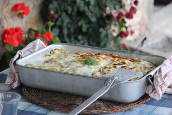 Borgo Argenina: Lasagne from our cooking class!