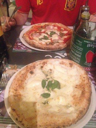 REbasilico Euroma2 : Pizza buenisima!!!