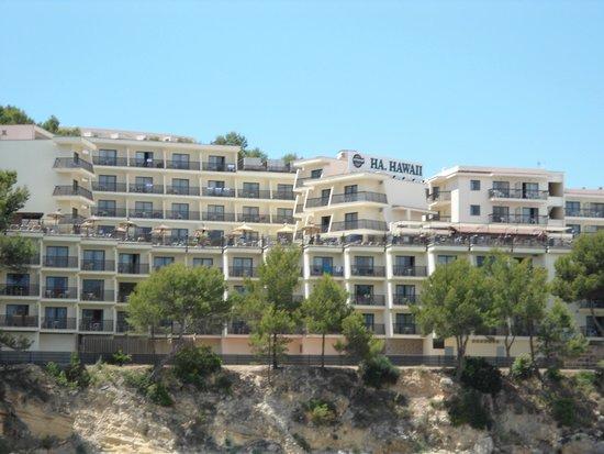 Alua Palmanova Bay : Hotel from Boat on Water