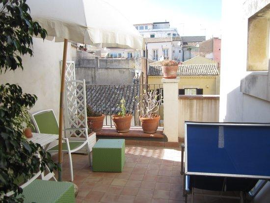 Palazzo del Sale: Private terrace.