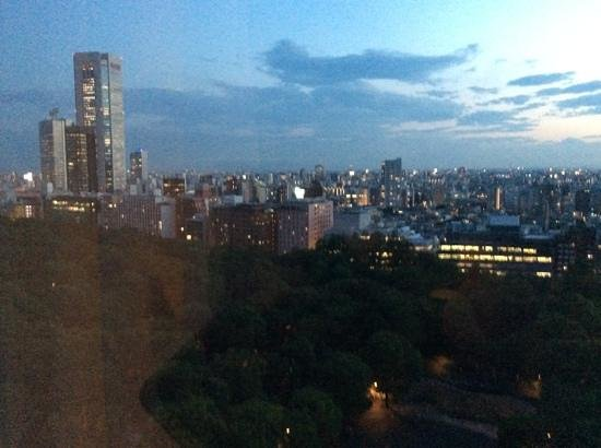 Hyatt Regency Tokyo: view from my window