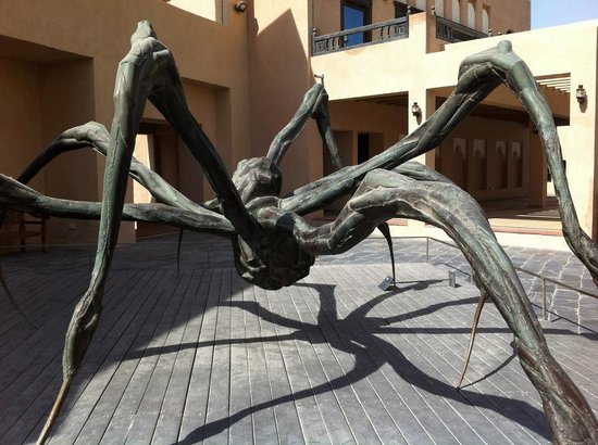 Qatar: Huge Wooden Spider