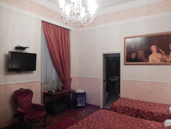 I Tre Moschettieri Luxury Guest House: Triple room