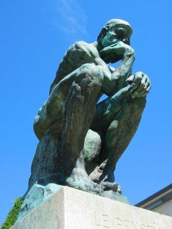 Musée Rodin : the thinker