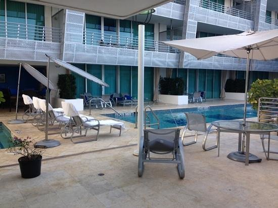 Z Ocean Hotel South Beach: piscina e sdraio