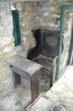 The Hermitage: Father Jerome's Prayer Bench and Desk