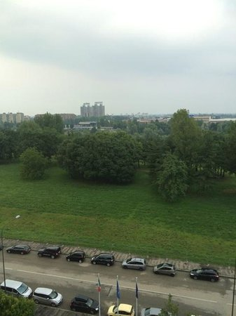 Novotel Torino : View from the room