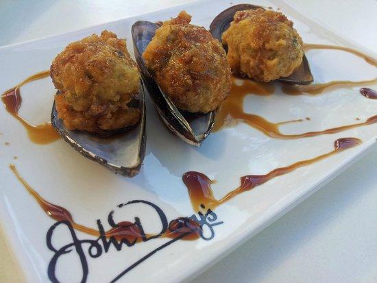 John Dory's : Fried Mussel Balls