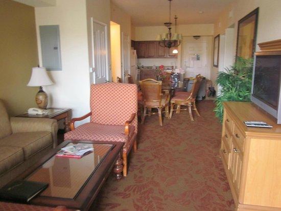 Floridays Resort Orlando: Living room