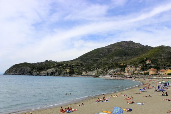 Agriturismo Villanova: Beach in Levanto