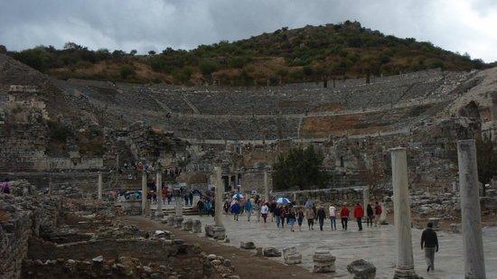 Efes Antik Kenti Tiyatrosu: Ephesus Theater