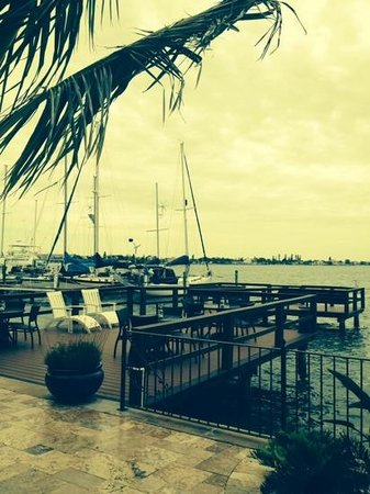 Pasa Tiempo Private Waterfront Resort: a dock, a sailboat, just add a beverage and it's perfect...